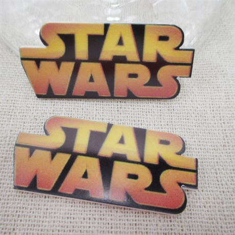 5 x 45mm STAR WARS LASER CUT FLAT BACK RESIN HEADBANDS BOWS CARD MAKING CRAFTS